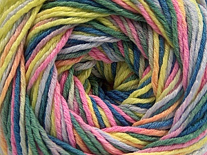 Fiber Content 100% Acrylic, Pink, Neon Yellow, Lilac, Khaki, Brand ICE, Blue, fnt2-57756