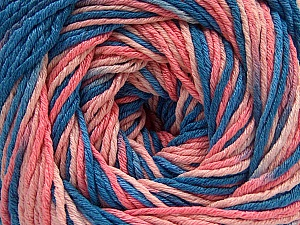 Fiber Content 100% Acrylic, Salmon Shades, Brand ICE, Blue Shades, fnt2-57757
