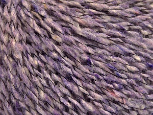 Fiber Content 50% Acrylic, 40% Wool, 10% Polyamide, Lilac Melange, Brand ICE, fnt2-57807