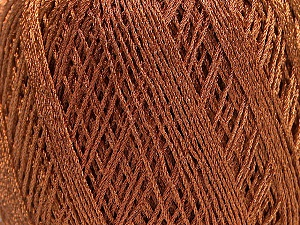 Fiber Content 90% Metallic Lurex, 10% Viscose, Brand ICE, Copper, fnt2-57853