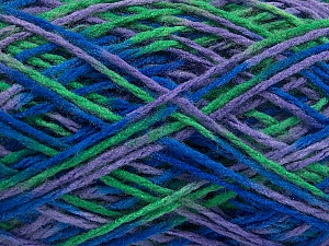 Fiber Content 100% Acrylic, Lilac, Brand ICE, Green, Blue, fnt2-57870