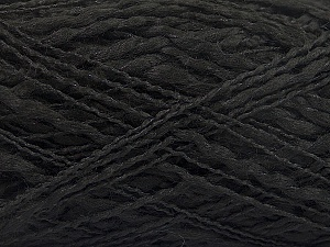 Fiber Content 90% Acrylic, 10% Polyamide, Brand ICE, Black, Yarn Thickness 3 Light  DK, Light, Worsted, fnt2-57891