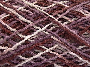 Fiber Content 100% Acrylic, White, Maroon Shades, Brand ICE, fnt2-57912