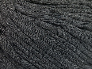 Fiber Content 100% Cotton, Brand ICE, Dark Grey, Yarn Thickness 5 Bulky  Chunky, Craft, Rug, fnt2-57937