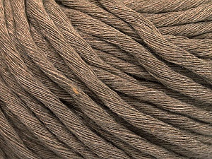 Fiber Content 100% Cotton, Light Camel, Brand ICE, Yarn Thickness 5 Bulky  Chunky, Craft, Rug, fnt2-57938