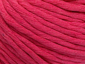 Fiber Content 100% Cotton, Pink, Brand ICE, Yarn Thickness 5 Bulky  Chunky, Craft, Rug, fnt2-57941