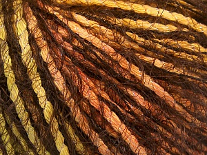 Fiber Content 60% Polyamide, 20% Acrylic, 20% Cotton, Orange, Brand ICE, Green, Gold, Brown, fnt2-57963