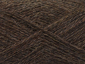 Fiber Content 50% Polyamide, 40% Baby Alpaca, 10% Wool, Brand ICE, Brown, fnt2-58069