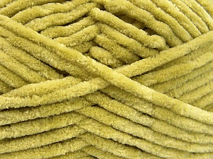 Fiber Content 100% Micro Fiber, Brand ICE, Apple Green, Yarn Thickness 4 Medium  Worsted, Afghan, Aran, fnt2-58079