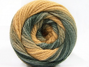 Fiber Content 90% Acrylic, 10% Polyamide, Light Camel, Brand ICE, Grey Shades, Yarn Thickness 4 Medium  Worsted, Afghan, Aran, fnt2-58122