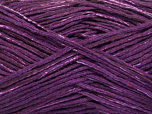 Fiber Content 80% Cotton, 20% Viscose, Purple, Brand ICE, fnt2-58178