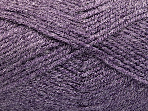 Fiber Content 50% Wool, 50% Acrylic, Lilac Melange, Brand ICE, fnt2-58228