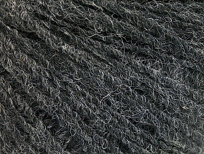 Fiber Content 50% Wool, 50% Acrylic, Brand ICE, Anthracite Black, fnt2-58239