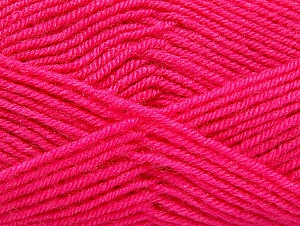 Fiber Content 60% Acrylic, 40% Wool, Brand ICE, Candy Pink, fnt2-58338