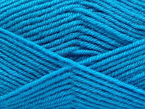 Fiber Content 60% Acrylic, 40% Wool, Turquoise, Brand ICE, fnt2-58343
