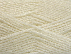 Fiber Content 50% Acrylic, 50% Wool, White, Brand ICE, fnt2-58367