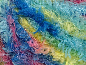 Fiber Content 100% Polyamide, Yellow, Turquoise, Pink, Brand ICE, Blue, fnt2-58557