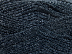 Fiber Content 50% Acrylic, 50% Wool, Brand ICE, Anthracite Black, fnt2-58560