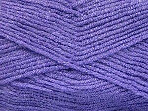 Fiber Content 50% Acrylic, 50% Wool, Lilac, Brand ICE, fnt2-58562
