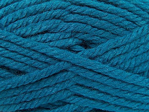 Fiber Content 60% Acrylic, 40% Wool, Turquoise, Brand ICE, fnt2-58600