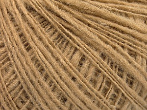 Fiber Content 50% Wool, 40% Acrylic, 10% Polyamide, Brand ICE, Cafe Latte, fnt2-58966