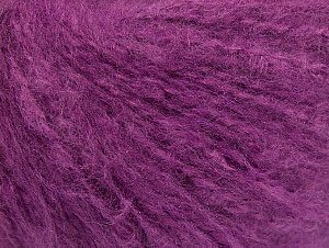 Fiber Content 70% Acrylic, 20% Mohair, 10% Wool, Lavender, Brand ICE, fnt2-59083