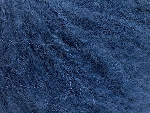 Fiber Content 70% Acrylic, 20% Mohair, 10% Wool, Navy, Brand ICE, fnt2-59085