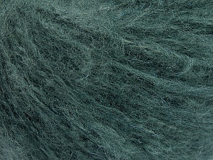 Fiber Content 70% Acrylic, 20% Mohair, 10% Wool, Brand ICE, Hunter Green, fnt2-59088