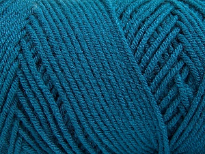 Items made with this yarn are machine washable & dryable. Fiber Content 100% Dralon Acrylic, Teal, Brand ICE, fnt2-59113