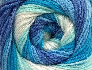 Fiber Content 100% Baby Acrylic, White, Turquoise, Lavender, Brand ICE, Blue, fnt2-59313