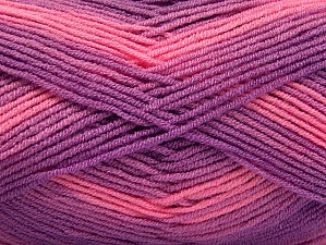 Fiber Content 100% Acrylic, Pink, Lilac Shades, Brand ICE, fnt2-59336