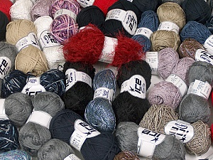 Summer Yarns This mixed lot includes a total of 2000 gr (70.5 oz.) yarn. There is no standard for ball weight. Also disregard any information on the labels. You will get what you see in the photo. Brand ICE, fnt2-59463