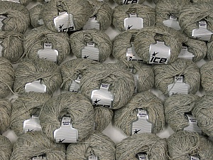 Nebbia Wool This mixed lot includes a total of 2000 gr (70.5 oz.) yarn. There is no standard for ball weight. Also disregard any information on the labels. You will get what you see in the photo. Fiber Content 54% Wool, 43% Acrylic, 3% Viscose, Brand ICE, fnt2-59501