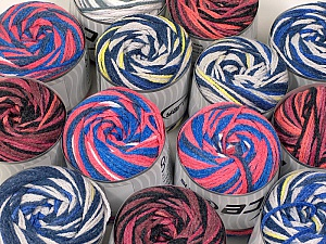 Cakes Air This mixed lot includes a total of 2000 gr (70.5 oz.) yarn. There is no standard for ball weight. Also disregard any information on the labels. You will get what you see in the photo. Fiber Content 50% Polyamide, 50% Acrylic, Brand ICE, fnt2-59519