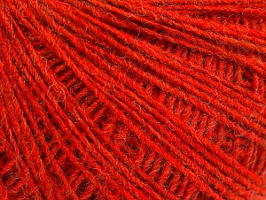 Fiber Content 50% Wool, 50% Acrylic, Brand ICE, Dark Orange, fnt2-60024