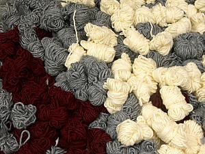 Peru Alpaca Leftover This mixed lot includes about 100 hanks of Peru Alpaca leftover yarns. There is no standard for fiber content and weight. The total weight is 2000 gr (70.5 oz.). Fiber Content 50% Merino Wool, 25% Acrylic, 25% Alpaca, Brand ICE, fnt2-60307