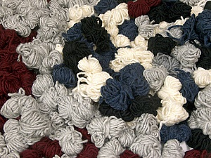Peru Alpaca Leftover This mixed lot includes about 100 hanks of Peru Alpaca leftover yarns. There is no standard for fiber content and weight. The total weight is 2000 gr (70.5 oz.). Fiber Content 50% Merino Wool, 25% Acrylic, 25% Alpaca, Brand ICE, fnt2-60315