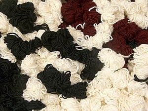 Peru Alpaca Leftover This mixed lot includes about 100 hanks of Peru Alpaca leftover yarns. There is no standard for fiber content and weight. The total weight is 2000 gr (70.5 oz.). Fiber Content 50% Merino Wool, 25% Acrylic, 25% Alpaca, Brand ICE, fnt2-60318