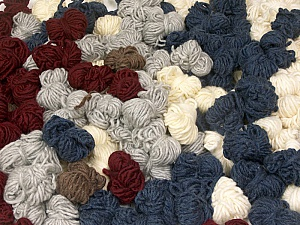 Peru Alpaca Leftover This mixed lot includes about 100 hanks of Peru Alpaca leftover yarns. There is no standard for fiber content and weight. The total weight is 2000 gr (70.5 oz.). Fiber Content 50% Merino Wool, 25% Acrylic, 25% Alpaca, Brand ICE, fnt2-60391