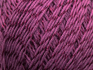 Fiber Content 70% Mercerised Cotton, 30% Viscose, Maroon, Brand Kuka Yarns, Yarn Thickness 2 Fine  Sport, Baby, fnt2-16808