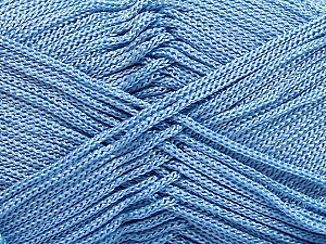 Width is 3 mm Fiber Content 100% Polyester, Yarn Thickness Other, Light Blue, Brand ICE, fnt2-21647