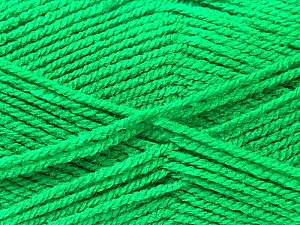 Fiber Content 100% Acrylic, Jungle Green, Brand ICE, Yarn Thickness 3 Light  DK, Light, Worsted, fnt2-22427