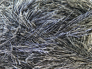 Fiber Content 100% Polyester, White, Brand ICE, Black, Yarn Thickness 5 Bulky  Chunky, Craft, Rug, fnt2-22702