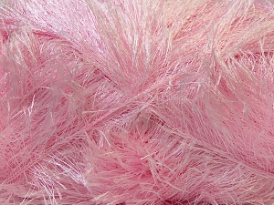 Fiber Content 100% Polyester, Brand ICE, Baby Pink, Yarn Thickness 5 Bulky  Chunky, Craft, Rug, fnt2-22719