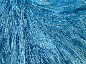 Fiber Content 100% Polyester, Light Blue, Brand ICE, Yarn Thickness 5 Bulky  Chunky, Craft, Rug, fnt2-22779