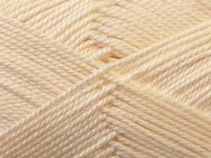 Fiber Content 100% Acrylic, Brand ICE, Cream, Yarn Thickness 2 Fine  Sport, Baby, fnt2-23580
