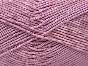 Fiber Content 100% Mercerised Cotton, Lilac, Brand ICE, Yarn Thickness 2 Fine  Sport, Baby, fnt2-23787