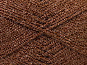 Fiber Content 100% Acrylic, Brand ICE, Brown, Yarn Thickness 2 Fine  Sport, Baby, fnt2-23875