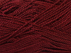 Fiber Content 100% Acrylic, Brand ICE, Burgundy, Yarn Thickness 1 SuperFine  Sock, Fingering, Baby, fnt2-24613