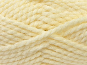 SuperBulky  Fiber Content 55% Acrylic, 45% Wool, Brand ICE, Cream, Yarn Thickness 6 SuperBulky  Bulky, Roving, fnt2-24939